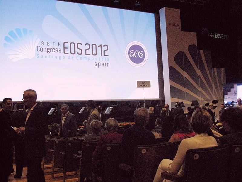 Церемония открытия конгресса  / 88й конгресс Европейского Общества Ортодонтов (EOS 2012)