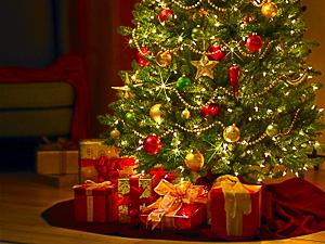 Presents under a Christmas tree (c) http://www.istockphoto.com/nyusziphoto