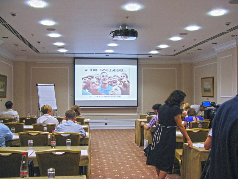 Cертификационный семинар Исправление прикуса невидимыми каппами фирмы All-In Invisible