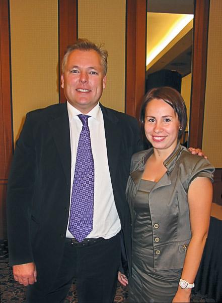 Dirk Wiechmann и Ольга Селектор